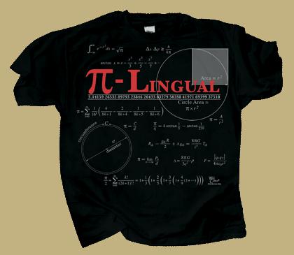 PI-Lingual Adult T-shirt