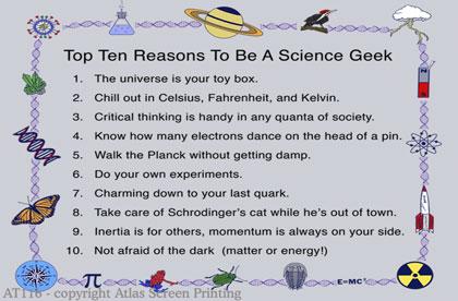 """Top Ten Geek 2"""" X 3"""" Magnet"""