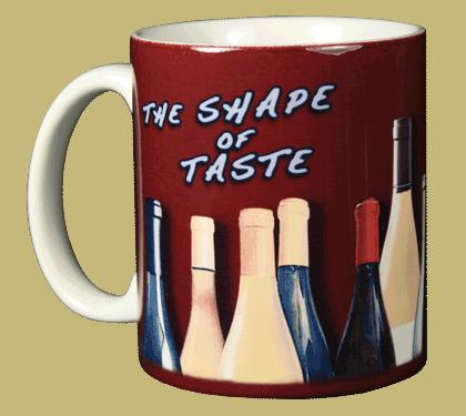 Shape of Taste Ceramic Mug - Front