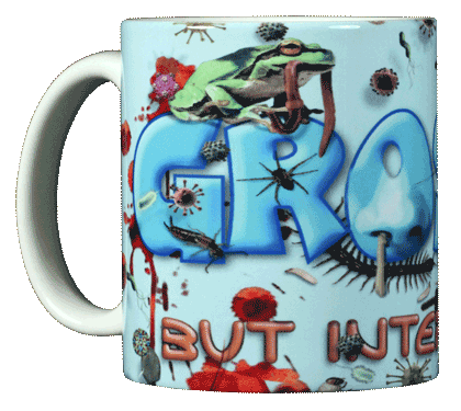 Gross! Ceramic Mug - Front