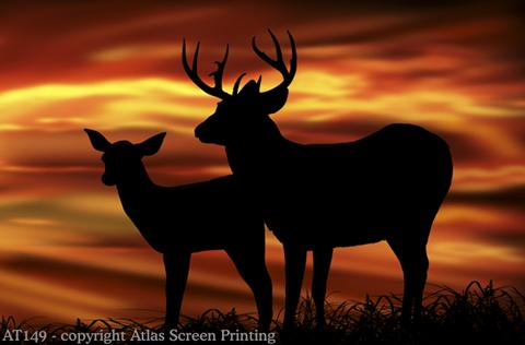 """Twilight Deer 2"""" X 3"""" Magnet"""