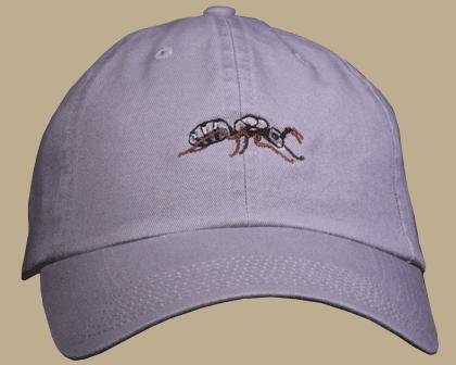 Carpenter Ant Embroidered Cap