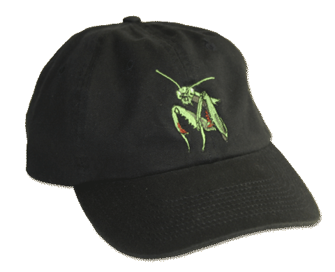 Preying Mantis Embroidered Cap