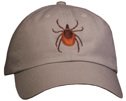 Wood Tick Embroidered Cap