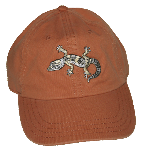 Leopard Gecko Embroidered Cap