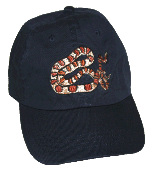 Corn Snake Embroidered Cap