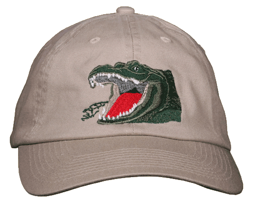 Gator Growl Embroidered Cap