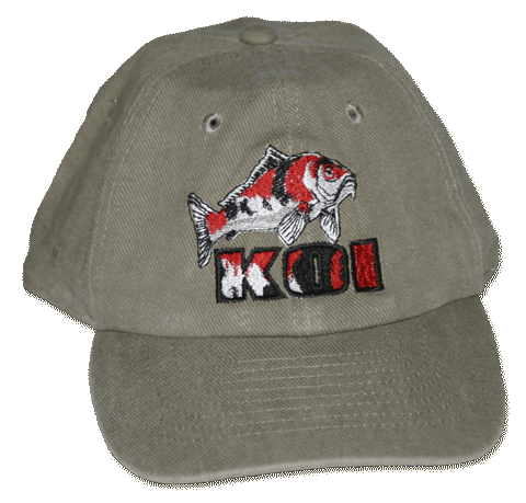 Koi Embroidered Cap