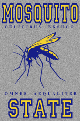 """Mosquito State 2"""" X 3"""" Magnet"""