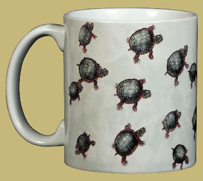 Turtles Ceramic Mug