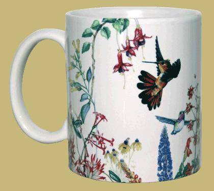 Hummer Garden Ceramic Mug - Front