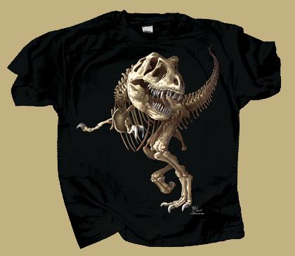 T-Rex Skeleton Youth T-shirt
