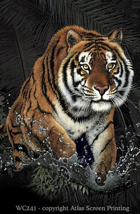 "Tiger Rush 2"" X 3"" Magnet"