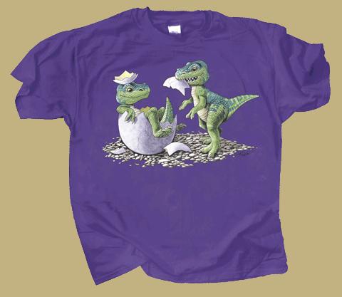 T-Rex Babies Youth T-shirt