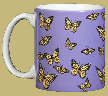 Monarch Medley Ceramic Mug - Front