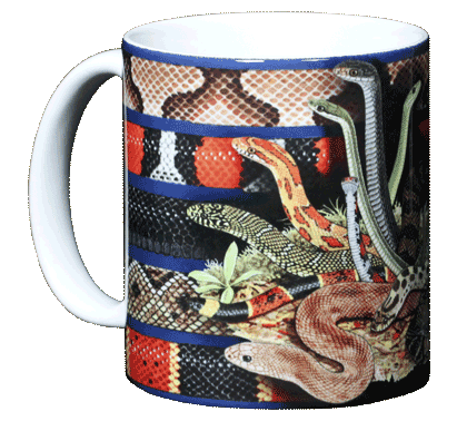 Snakezz Ceramic Mug - Front