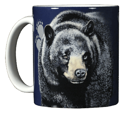 Bear Trax Ceramic Mug - Front