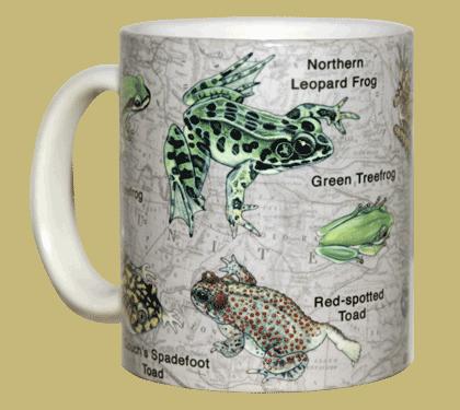 Frogs of NA Ceramic Mug