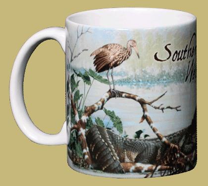 Southern Wetlands Ceramic Mug - Front