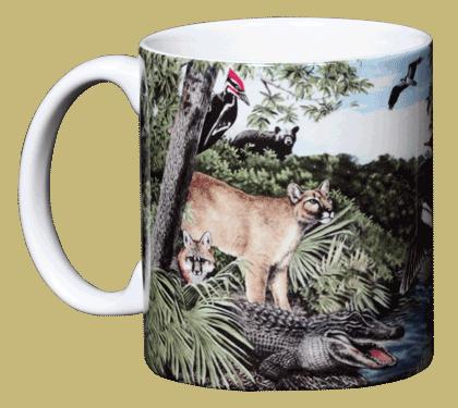 Southern Hammock Ceramic Mug - Front