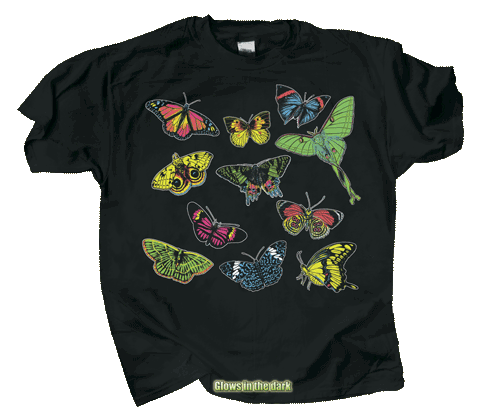 Butterfly Glow Youth T-shirt - DC