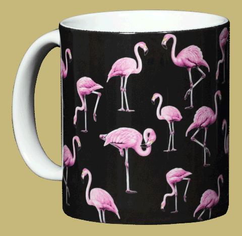 Flamingos Ceramic Mug