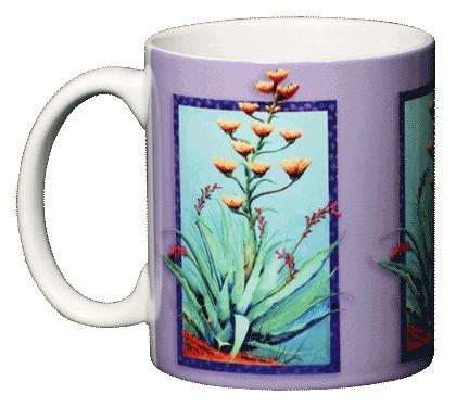 Agave Ceramic Mug - Front
