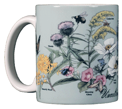 Uncultivated By Nature Ceramic Mug - Front