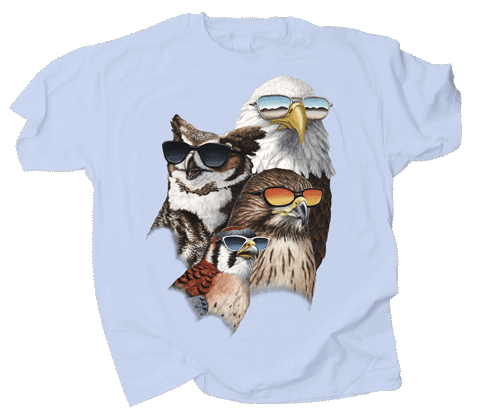 Cool Raptors Adult T-shirt