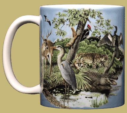 Southern Nature Ceramic Mug - Front