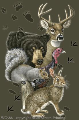 "Wildlife Trax 2"" X 3"" Magnet"