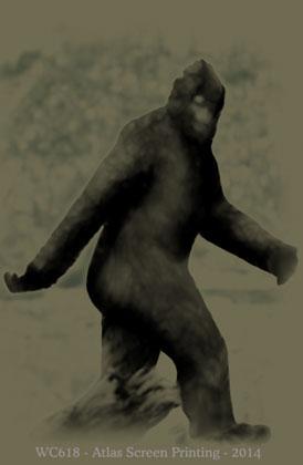 "Bigfoot  2"" X 3"" Magnet"