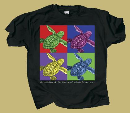 Imagine Sea Turtles Youth T-shirt