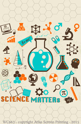 """Science Matters 2"""" X 3"""" Magnet"""