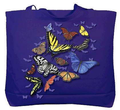 Butterfly Wonder Canvas Tote