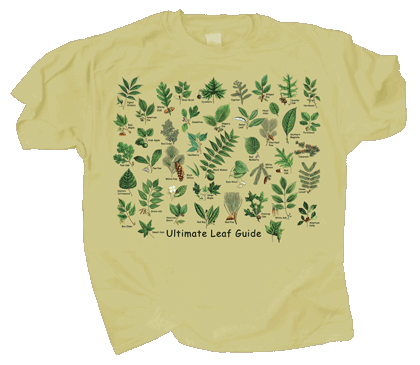 Ultimate Leaf Guide Adult T-shirt - Front