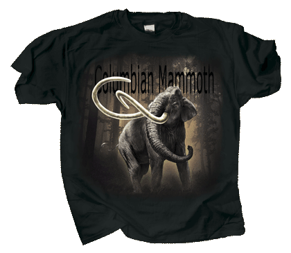 Columbian Mammoth Adult T-shirt