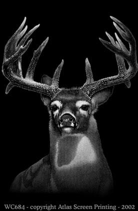 """Discharge Deer 2"""" X 3"""" Magnet"""