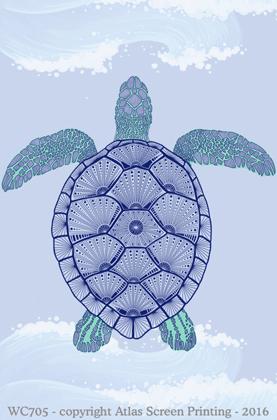 "Green Sea Turtle 2"" X 3"" Magnet"