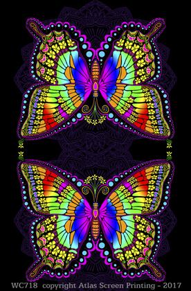 "In A Gadda Da Butterfly 2"" X 3"" Magnet"