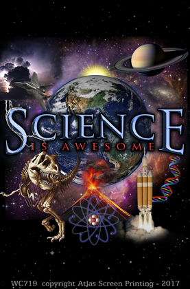 "Science Is Awesome 2"" X 3"" Magnet"
