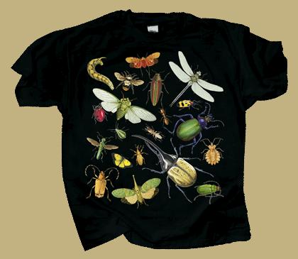 Glow Bugs Youth T-shirt