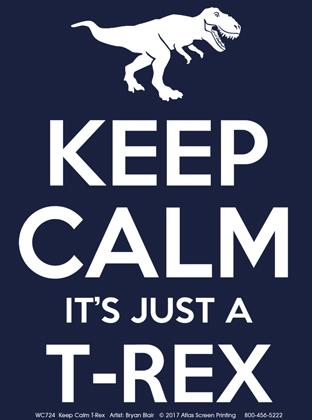 Keep Calm T-Rex Youth T-shirt