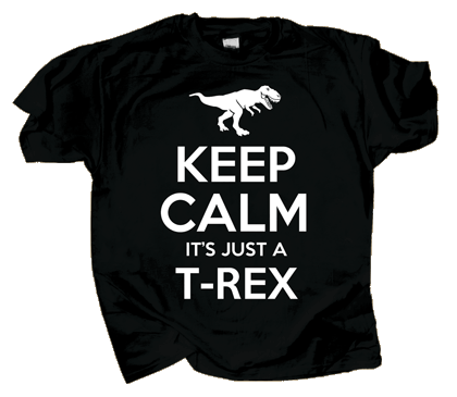 Keep Calm T-Rex Youth T-shirt