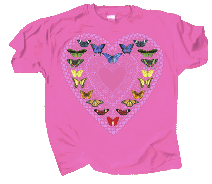 Butterfly Sweetheart Youth T-shirt - DC