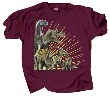 Mesozoic Dinosaurs Youth T-shirt