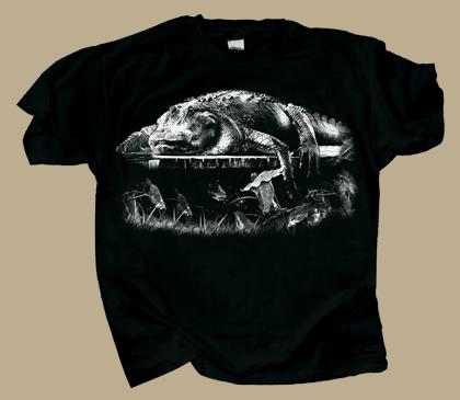 Dockside Gator Adult T-shirt
