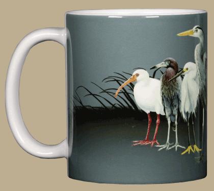 Pond Scoggins Ceramic Mug - Front