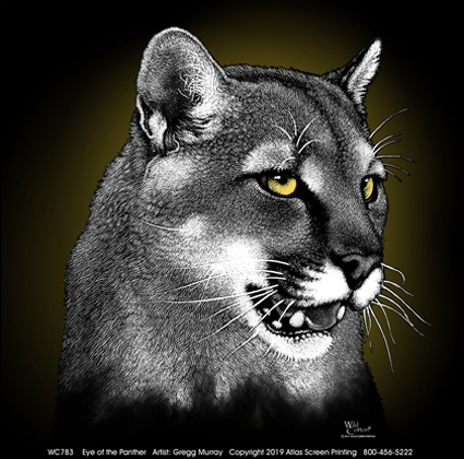 Eye of the Panther Adult T-shirt