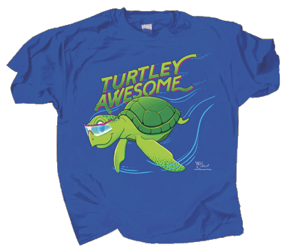 Turtley Awesome Youth T-shirt